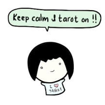 keep calm and tarot on