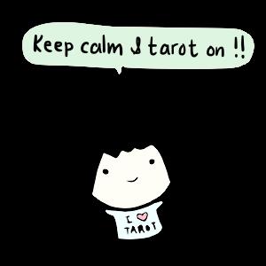 keep calm and tarot on