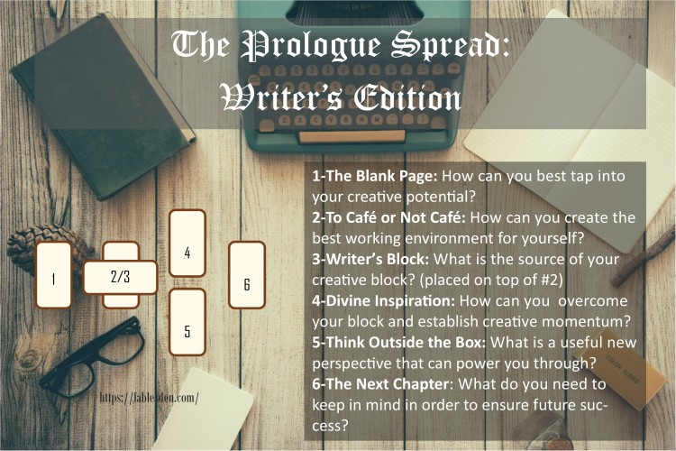 The Prologue Spread Writer's Edition