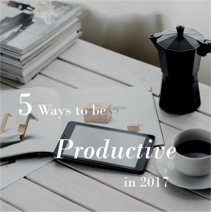 5-ways-to-be-productive