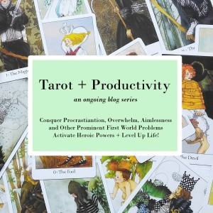 tarot and productivity blog pic