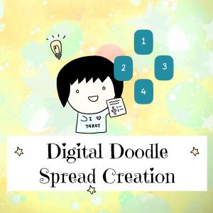 Digital Doodle Spread Creation