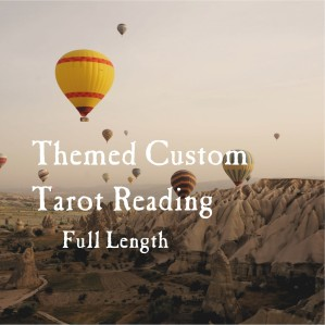 themed custom tarot reading full length