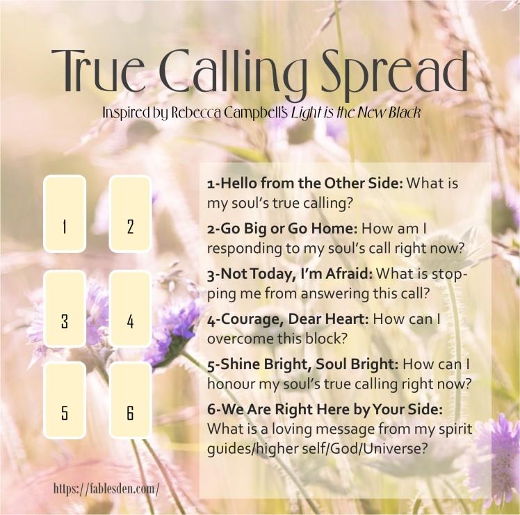 True Calling Spread