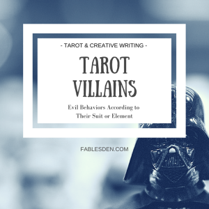 Blog Post Feature Image tarot villains