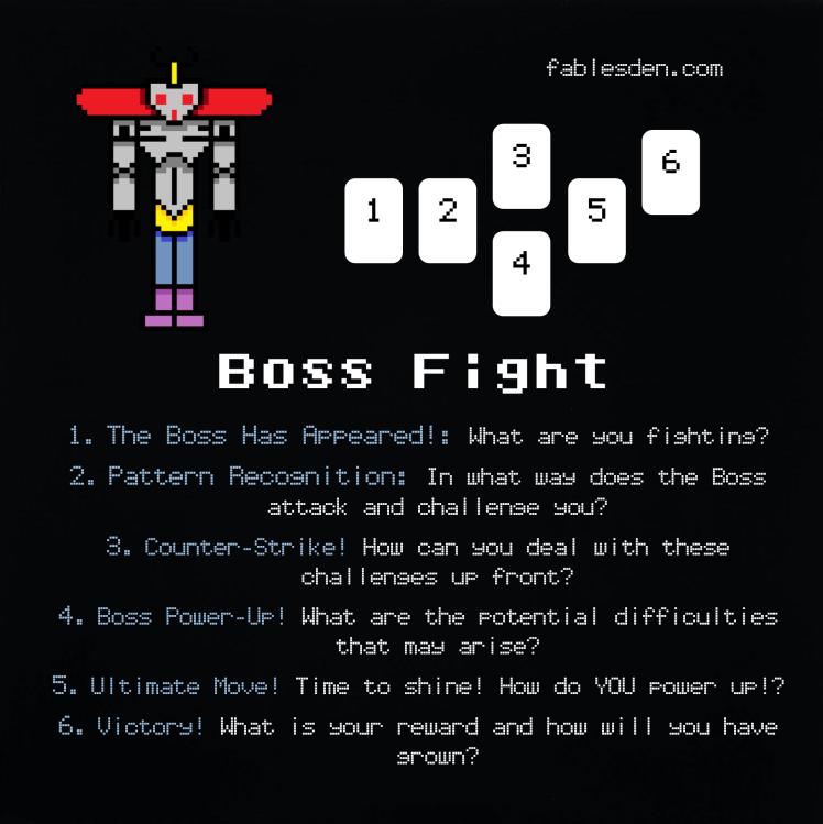 Boss Fight Tarot Spread