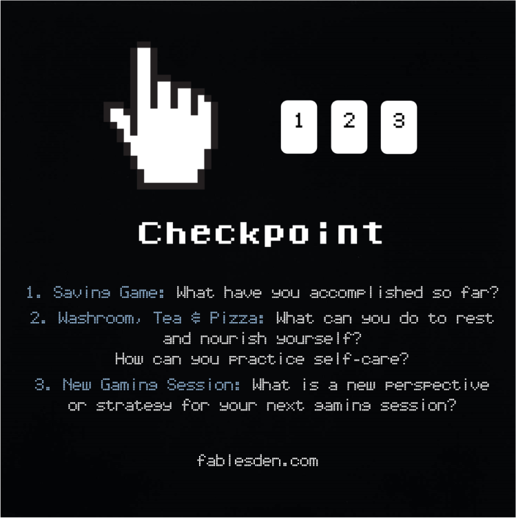 Checkpoint Tarot Spread