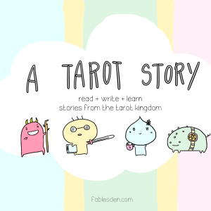 a tarot story square