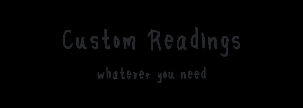 Custom Reading Banner