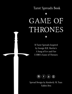 Game of Thrones Spreads Book Winter is Coming Edition-01
