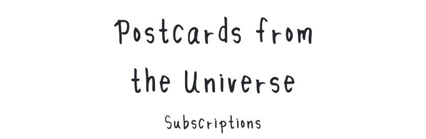 Postcards from the Universe banner
