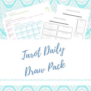tarot daily draw pack